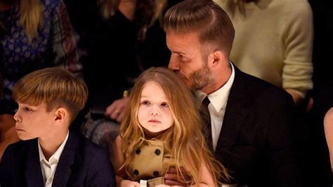 David Beckham Defends Giving Four-year-old Daughter Dummy