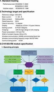 Osaki Electric Wfd1 Watt Hour Meter User Manual 1 Standard