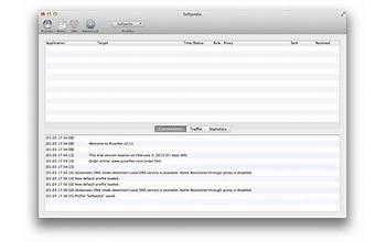 Proxifier screenshot #2