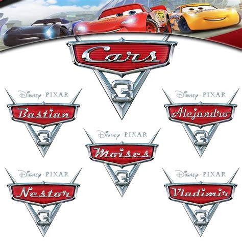 Cars Logo by Cars 3 Logo Personalizado Para Ni 241 O Topper U S 2 80 En