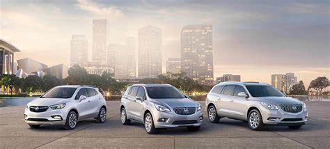 Buick Encore Size Comparison by Compare Buick Suvs Encore Envision Enclave