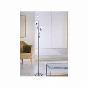 franklite campani 3 light halogen floor lamp in chrome With halogen spotlight floor lamp