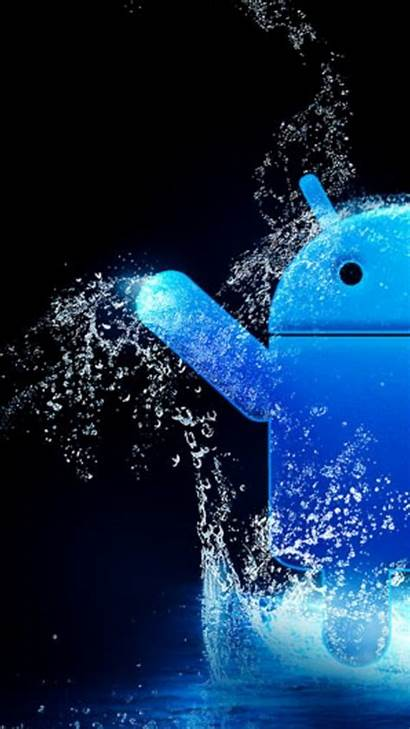 Android Wallpapers Smartphone Splash Getphotos