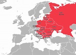 Map of Eastern Europe | Eastern Europe Map | Map of Europe ...