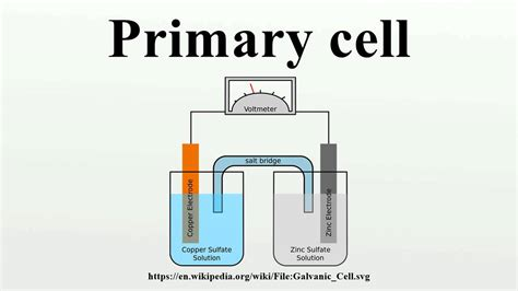 Battery Cell Diagram by Primary Cell