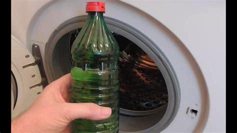 waschmaschine stinkt waschmaschine reinigen und entkalken mit essig und natron