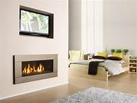 modern gas fireplaces Modern Fireplace Pictures and Ideas