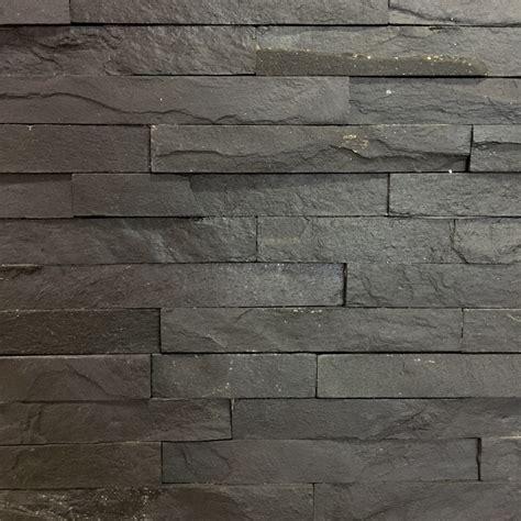 bathroom tile ideas images slate black split tile 10x40cm wall cladding