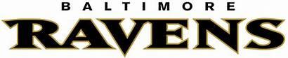 Ravens Baltimore Clipart Football Nfl Getdrawings Wordmark
