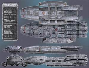 Comparison of the Pegasus and the Galactica | BSG-75 ...