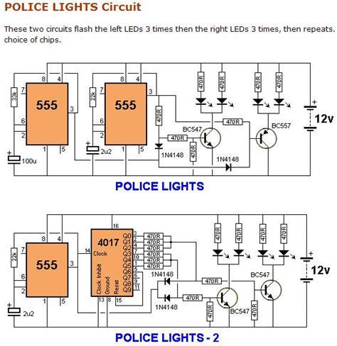 Luces Policiacas Base Leds Circuitos Alternativos