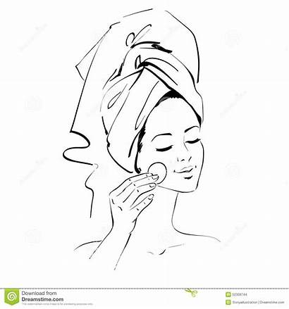 Skin Care Clipart Clip Sketch Skincare Line