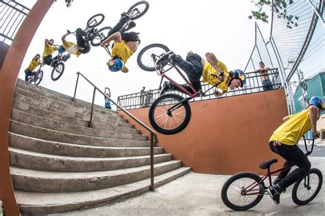 World's First Backflip Down Stairs