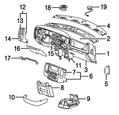 Dashboard Of 2000 Dodge Dakotum Wiring Diagram by Unique Dodge Interior Parts 10 2002 Dodge Ram 1500 Parts