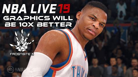 Nba Live 19 If They Use Frostbite The Graphics Will Be