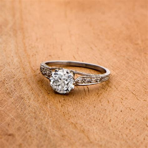 10 vintage engagement ring styles you will love junebug weddings