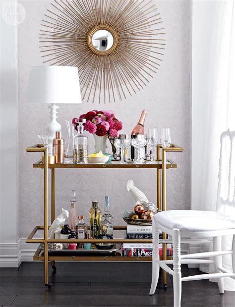 highlow stylish bar cart style  home