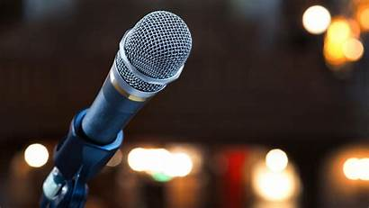Presentation End Way Powerful Microphone Stage Most