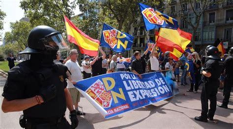 libreria europa neonazis y antifascistas se concentran en bcn separados