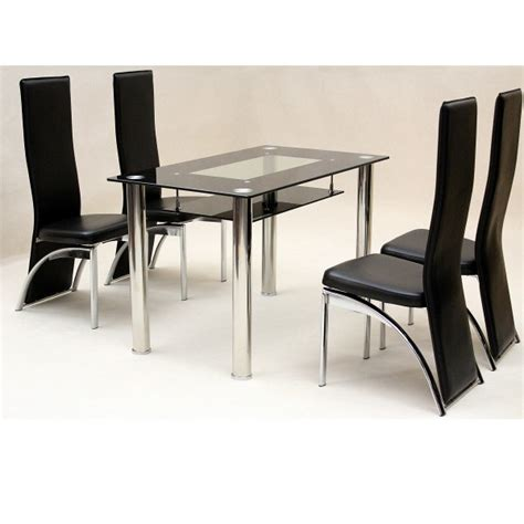 cheap dining table and 4 chairs cheap heartlands vegas small glass dining table set 4