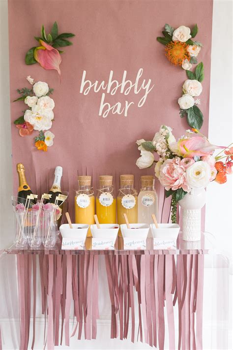 mimosa bar bridal shower mimosa bar bridal shower brunch with free printables 183 ruffled