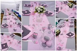 Deco Table Bapteme Fille : decoration communion ~ Preciouscoupons.com Idées de Décoration
