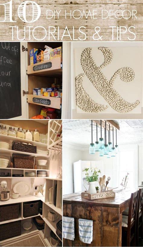 10 Diy Home Decor Tutorials & Tips  Home Stories A To Z