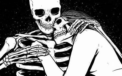Skull Skeleton Toxic Gifs Heart Heads Head