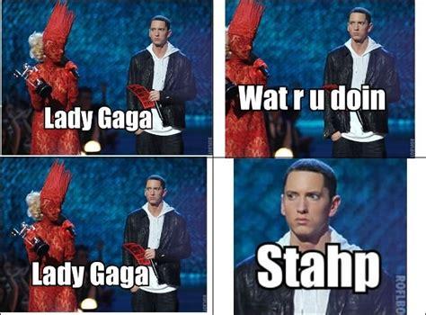 Stahp Meme - gaga stahp lady gaga laughing and facial expressions