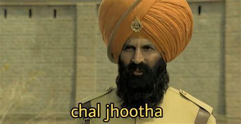 meme chal jhootha akshay kumar templates hum movies wo aur indian hain indianmemetemplates