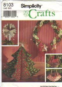 vintage simplicity christmas craft sewing by attictreasuresbyjudy