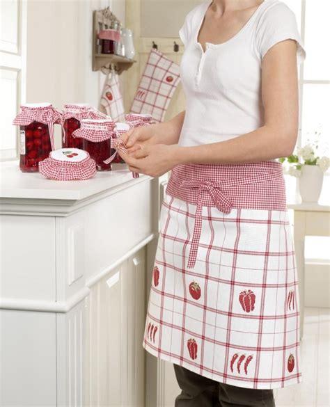 tablier blanc de cuisine accessoires cuisine