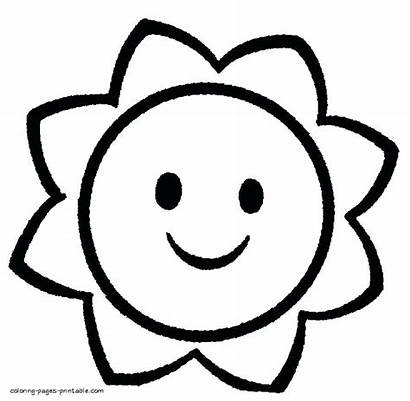 Coloring Pages Shapes Simple Printable Basic Getcolorings