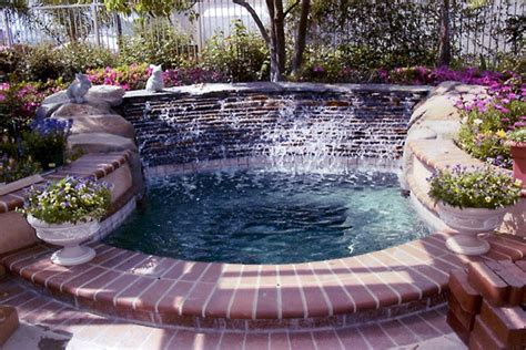 outdoor tubs spa custom inground tubs