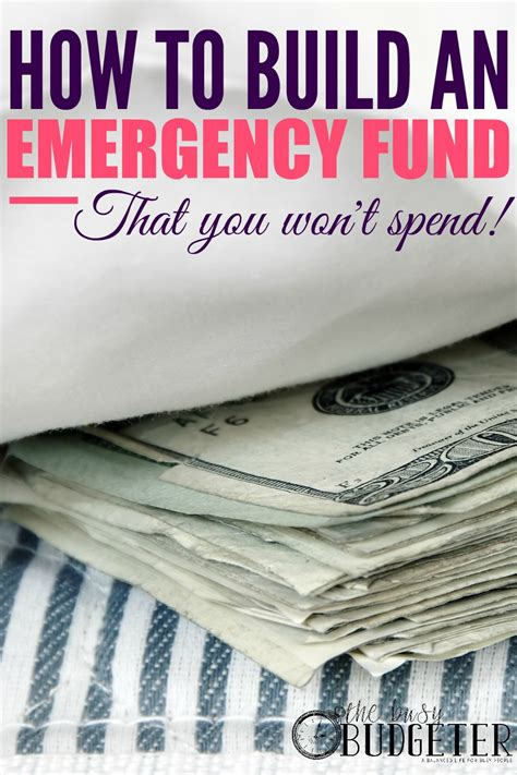 How To Build An Emergency Fund (that You Won't Spend