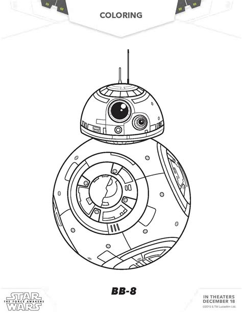 starwars coloring pages wars coloring pages the awakens coloring pages