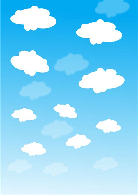 Sky Clipart Clipart Sky With Clouds