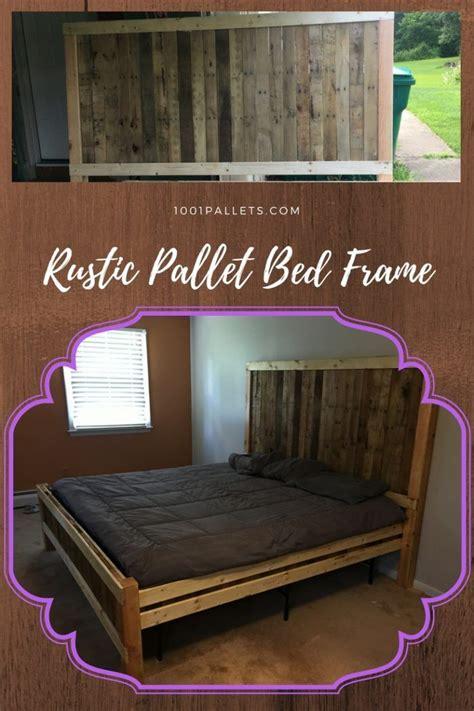 pallet beds headboards images  pinterest