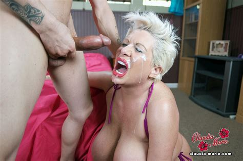 Huge Tits Tittytuesday Whore Claudia Marie Fucked Rough