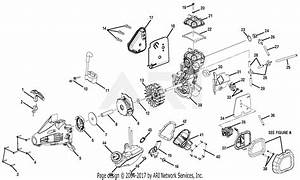 Homelite Ry34007 30cc Power Head Parts Diagram For Figure B