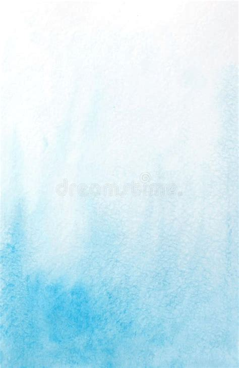 Abstract watercolor light blue background Vector