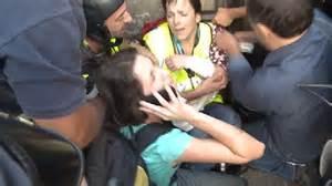 CNN's Shasta Darlington and producer injured in tear gas ...