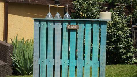 Comment Fabriquer Un Bar En Palette Pour Le Jardin
