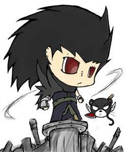 Fairy Tail Gajeel Chibi