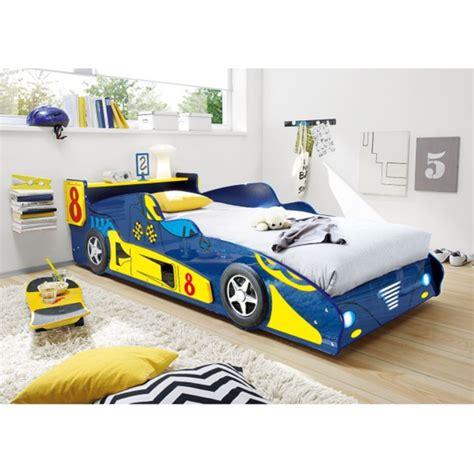 Autobett Race Mdf Glanz Blaugelb Ca 90 X 200 Cm Von
