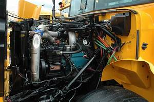 6 Best Images Of International School Bus Engine Diagram