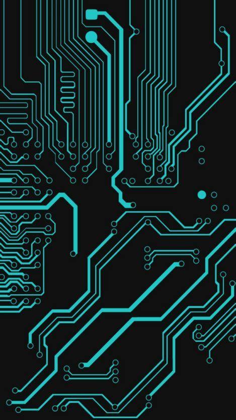 Digital Wallpaper Iphone by Circuit Board Digital Iphone Wallpaper Iphone Wallpapers