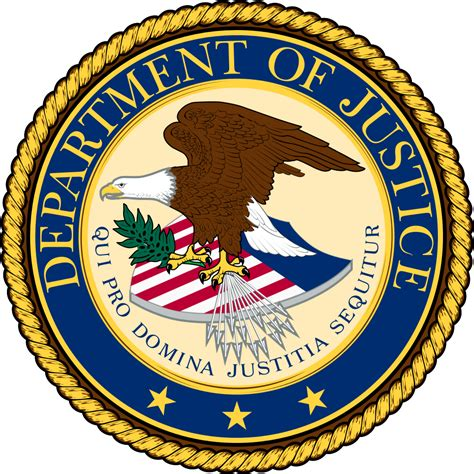 us bureau of file seal of the united states department of justice svg