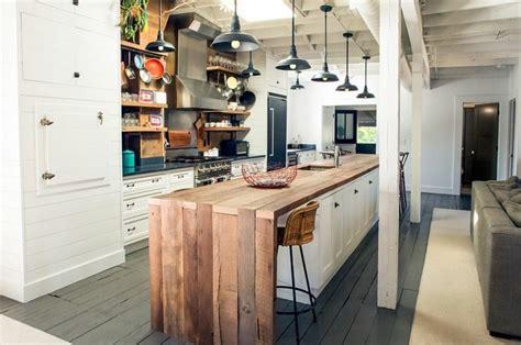 idee le cuisine avec ilot central ideeco