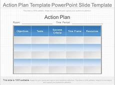 Innovative Action Plan Template Powerpoint Slide Template